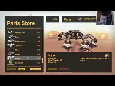 Gear Up - ракетницы, ноги - мечта Robocraft'ера ?