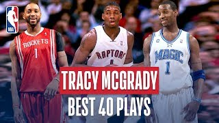 Video Tracy McGrady's BEST 40 Plays! MP3, 3GP, MP4, WEBM, AVI, FLV September 2019