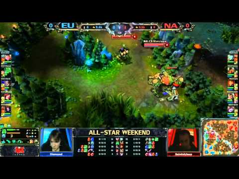 lol - League of Legends all stars NA vs EU Date: 05.25.2013 Live on twitch.tv.