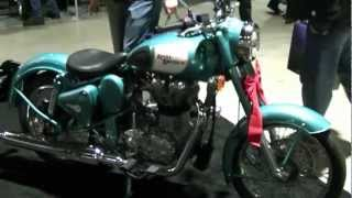 6. 2012 Royal Enfield Bullet Motorcycles