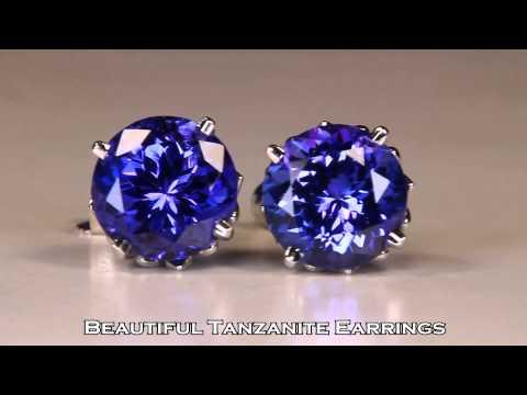 Tanzanite Jewelry Designs and Gemstones