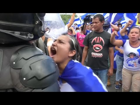 Nicaragua: Heftige Unruhen - gewaltsame Zusammenstöße ...