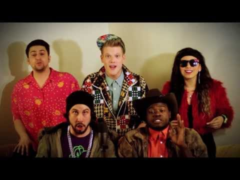 """Macklemore & Ryan Lewis  """"Thrift Shop"""" feat. Wanz Cover by Pentatonix"""