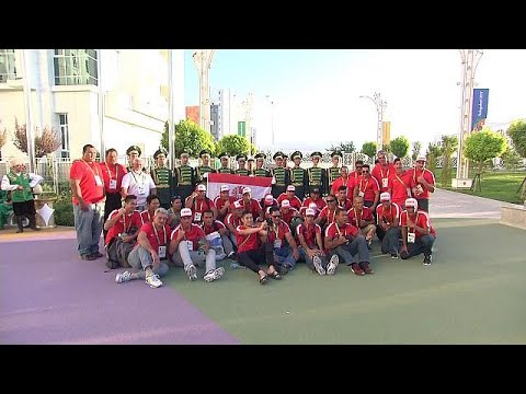 العرب اليوم - افتتاح الدورة الخامسة لألعاب الصالات والفنون القتالية