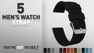 Top 10 Men's Watch Strap [2018]: BARTON Quick Release - Choose Color & Width (16mm, 18mm, 20mm,