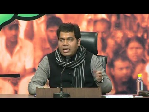 Press Conference by Pt. Shrikant Sharma on Law & Order Situation in Uttar Pradesh : 09.02.2016