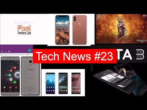 Tech News #23 Whatsapp New Feature, Mi MIX2, M6 Note, Fb watch, IPhone 8, Note 8 3D Touch, OPPO R11,
