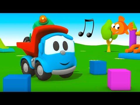 Leo the TRUCK Song - Children's Educational Cartoons (Лева грузовичок