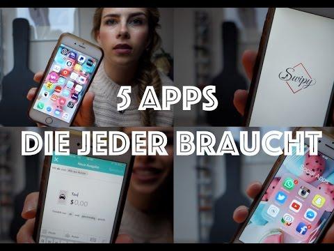 5 Apps die jeder auf dem Handy haben sollte