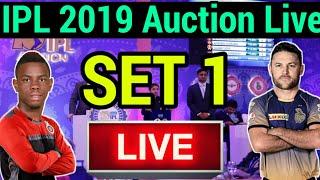 IPL 2019 Auction Live: SET 1 Batsman, 8 Batsman