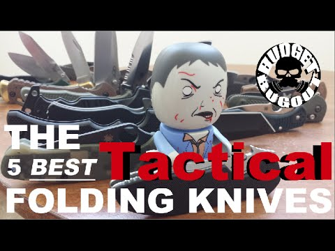 The 5 Best Tactical Folding Knives
