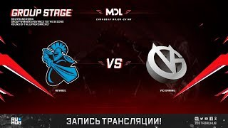 NewBee vs Vici Gaming, MDL Changsha Major, game 2 [Adekvat, Inmate]