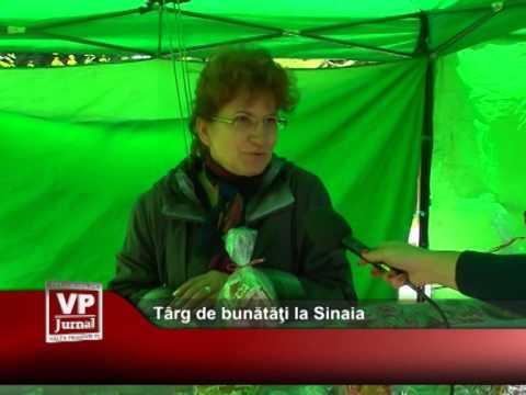 Târg de bunătăţi la Sinaia