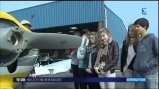 Saint-Aubin-sur-Scie France  City pictures : Le BIA à l'aéroclub de Dieppe