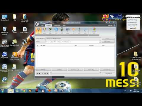 comment modifier mpeg4 en mp3