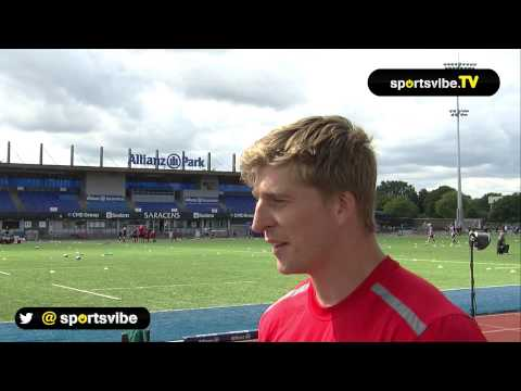 David Strettle On The Rugby Season Ahead