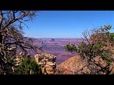 Grand Canyon Arizona to New Mexico Mountains -  Scenic USA Travel -  YouTube (видео)