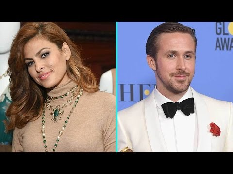 Eva Mendes Coyly Responds to Ryan Gosling's Sweet Golden Globe Award Dedication (видео)