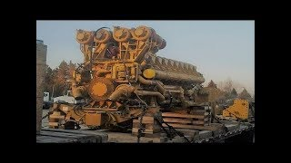 Video Big Engine Starting Up and Sound MP3, 3GP, MP4, WEBM, AVI, FLV Agustus 2017