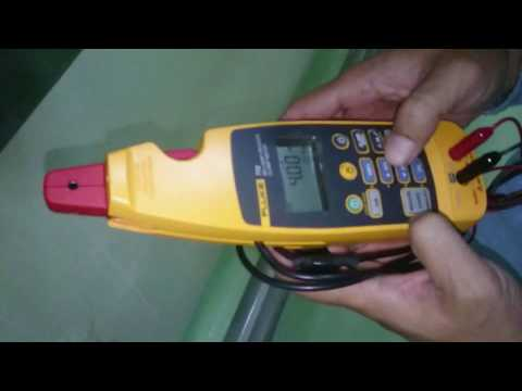 mA Current test with fluke 772