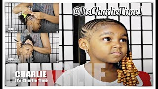 BRAIDS WITH BIG BEADS {Kid Friendly}