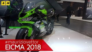 2. Kawasaki Ninja ZX-6R - EICMA 2018 [ENGLISH SUB]