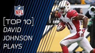 Top 10 David Johnson Plays of 2015 | #TopTenTuesdays | NFL by NFL