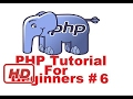[PHP Tutorial for beginners] PHP Tutorial for Beginners 6 # Concatenation Operator and Escape seque