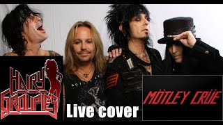 Video Kickstart My Heart (cover) - Hairy Groupies live