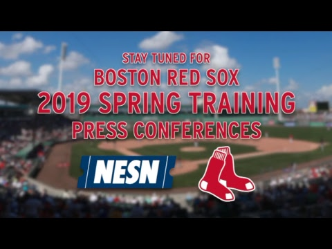 Video: Alex Cora Red Sox Spring Training Press Conference (02/21)