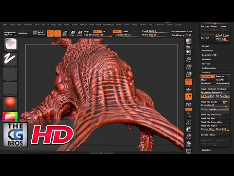 cgi - Check out this great zbrush tutorial where you'll get a quick introduction to Zbrush masking where you'll learn to protect areas of the model, help sculpt details and even it out to make polypainti...