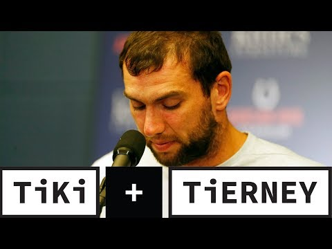 Video: Andrew Luck's Retirement Is SHOCKING! | Tiki + Tierney