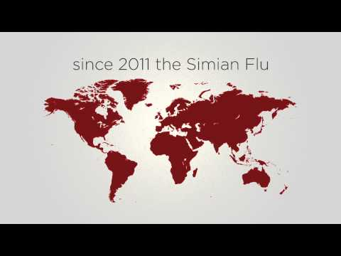 Dawn of the Planet of the Apes (Viral Video 'Simian Flu')