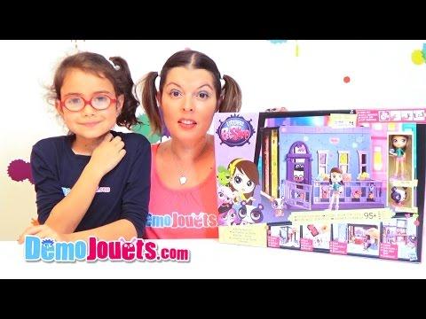 Test Littlest Petshop La Chambre de Blythe Hasbro Démo Jouets