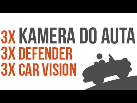 Recenze a Porovnání Kamer Do Auta Defender Car Vision 2015, 5015 a 5018!
