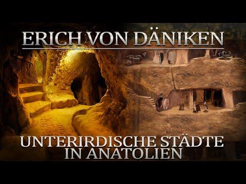 Ondergrondse steden in Anatolië Erich von Daniken