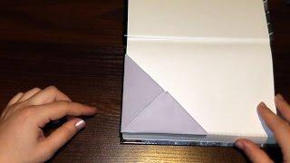 Чудова закладка з паперу для книги чи зошита (орігамі)В даному відео ми з Вами дізнаємося, як зробити паперову закладку своїми руками (орігамі). Можете використовувати для таких закладок красиві різнокольорові аркуші паперу або папір з журналів. Просто повторюйте за нами!Опис відео:00:01 Нам знадобиться квадратний аркуш паперу 00:04 Складаємо лист паперу по діагоналі00:32 Ще раз складаємо навпіл00:49 Розвертаємо і складаємо куточки до нижньої точки02:27 Паперова закладка своїми руками готова! Підписуйтесь на наш YouTube канал «Розумна дитина»,щоб першими дізнаватись про нові відео:https://www.youtube.com/channel/UCpKlZnl88hGmT363eG4mtEgЯк зробити лілію своїми руками (аплікація з паперу): https://youtu.be/Xqn53jbunBQОрігамі тюльпан з паперу (квітка з паперу) майстер клас: https://youtu.be/IAhIg3XJqU8Орігамі паперова жаба (жабка), що стрибає http://youtu.be/ts5fxLkWhpMЯк зробити паперового зайця (кроля, кролика) орігамі: http://youtu.be/GE1XaSauY4k