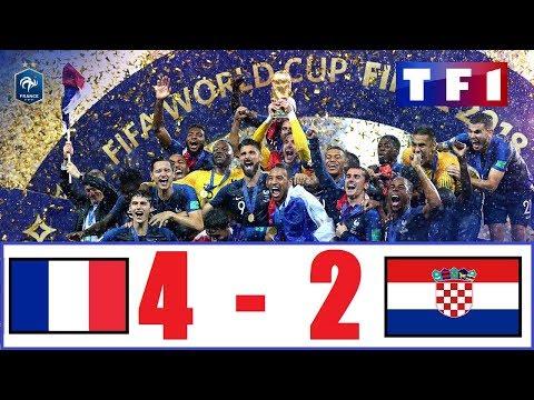 France 4-2 Croatie | Finale Coupe du Monde