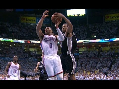 Video: Kawhi Leonard's CLUTCH Block on Russell Westbrook