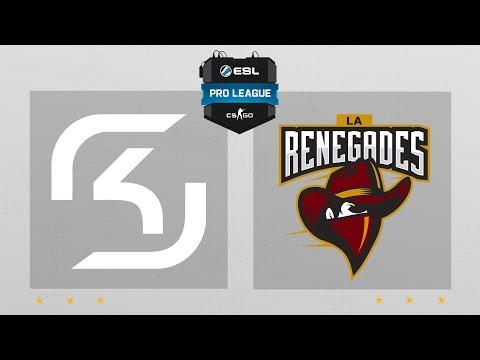 CS:GO - Renegades vs. SK [Dust2] Map 2 - ESL Pro League Season 4 - NA Matchday 10
