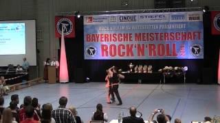 Franziska Schmidt & Paul Weiland - Bayerische Meisterschaft 2014