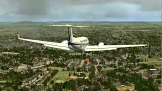 Feucht Germany  city images : King Air Landing in Feucht, Germany ! [FSX]