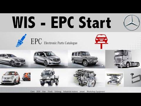 Mercedes-Benz Star Diagnosis EPC  + Wis