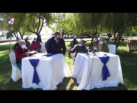Comisión Técnica Mixta realizó donación al Club de Pescadores