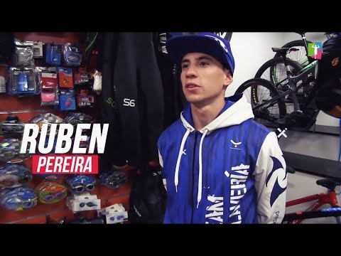 Rubén Pereira, triatleta delTeam Claveríapara la temporada 2018