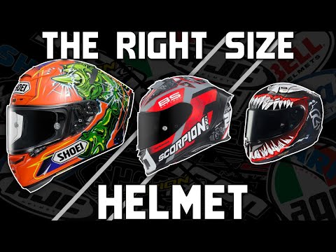 How to Choose The Right Size Motorcycle Helmet from SportbikeTrackGear.com
