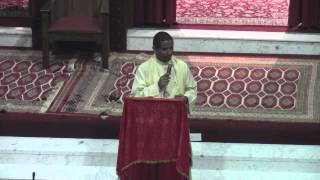 Deacon Andualem @ Toronto St. Mary Ethiopian Orthodox Tewahedo Church (November 16, 2013)
