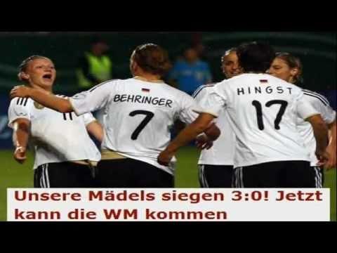 Deutschland - Norwegen 3:0 (Frauen-Fußball-WM-Test 2011)
