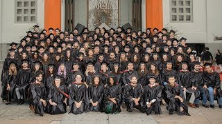 A historic AFI Conservatory Commencement at the TCL Chinese Theatre in Hollywood on Monday, June 5, 2017, marked the 50th Anniversary of the Institute's formation in 1967, with its honorees — the AFI Class of 2017, as well as Honorary Degree recipients Carol Burnett, Marshall Herskovitz (AFI Class of 1975) and Edward Zwick (AFI Class of 1975) — spanning the past, present and future of the art form.In celebration of the Anniversary, AFI Founding Director George Stevens, Jr., joined AFI President Emerita Jean Picker Firstenberg and current AFI President and CEO Bob Gazzale — bringing together all three presidents from AFI's history.  A Doctorate of Fine Arts honoris causa was conferred upon Burnett by special guest Kristin Chenoweth, and Doctorates of Communication Arts honoris causa were conferred upon Herskovitz and Zwick by Firstenberg. 0:09 Opening Message from AFI Graduate, David Lynch0:54 Procession of AFI Board, Faculty, and Staff1:42 Procession of AFI Honorary Degree Recipients and Presenters2:10 Entrance of AFI Class of 2017 into the Chinese Theater5:15 Procession of AFI Class of 20177:10 Opening remarks by AFI President and CEO, Bob Gazzale15:45 AFI 50th Anniversary remarks by AFI Founding Director, George Stevens, Jr.20:30 Presentation of AFI Honorary Degrees21:40 Kristin Chenoweth's introductory remarks for Carol Burnett29:52 Carol Burnett reel32:50 Carol Burnett does her famous Tarzan yell33:17 Carol Burnett receives her Honoraray Degree and gives her remarks39:29 AFI President and CEO, Bob Gazzale introduces AFI President Emerita, Jean Picker Firstenberg41:30 AFI President Emerita, Jean Picker Firstenberg's remarks45:20 AFI President Emerita, Jean Picker Firstenberg's introductory remarks for Marshall Herskovitz and Ed Zwick50:43 Marshall Herskovitz reel53:13 Marshall Herskovitz receives his AFI Honorary Degree and gives his remarks1:00:19 AFI President Emerita, Jean Picker Firstenberg bestows Ed Zwick with the AFI Conservatory Honorary Degree1:01:36 Ed 