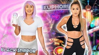 DIY HALLOWEEN COSTUMES: Euphoria Maddy + Black Mirror Ashley O by LaurDIY